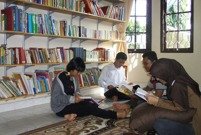 perpustakaan english zone